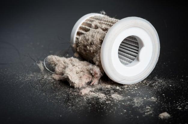 Dust hepa filter