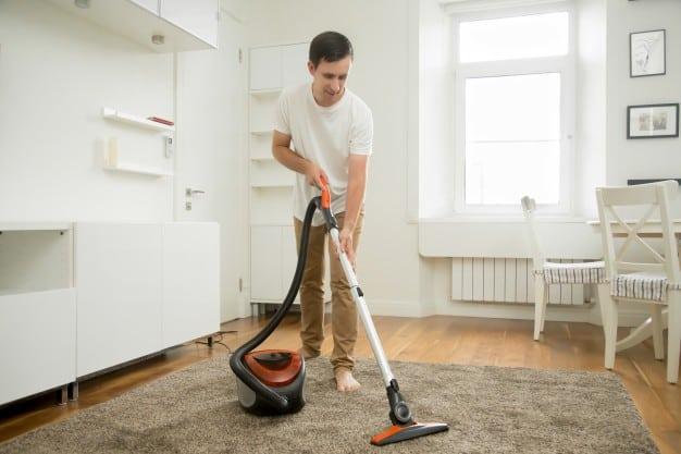Regular cleaning carpet